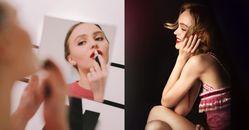 好萊塢最美星二代!香奈兒時裝、彩妝都相中,Lily Rose Depp 15歲就和Chanel結緣