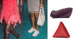 BV「編織包」再出招!三角形、立體雕塑全都美翻!這款「串珠手拿包」突破60萬售價,收藏價值根本直逼愛馬仕啊!