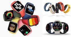 智慧型手錶推薦Top5!編輯實測心得,Apple Watch不會出錯 ,小米最新運動手錶CP值冠軍!