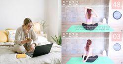 駝背矯正簡單6步驟 !日本健身達人親授「美背瑜珈」,每天30分鐘7天改善虎背熊腰