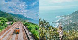 宜蘭景點推薦大里車站,台鐵鄉間小站遠眺海景,龜山島就在眼前
