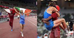 2020東京奧運跳高,百年首見「共享金牌」!賽後透露「其實我們是多年摯友」