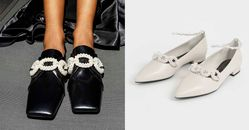 2021秋冬時尚關鍵字「珍珠光」加持!Charles & Keith7款絕美復古鞋,最便宜1千7百元有找