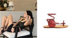 「綁帶涼鞋」推薦Top10!LV、Celine、Gucci、YSL...孫芸芸在家工作穿搭靠Loewe