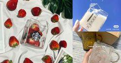 星巴克「牛奶玻璃杯」透明、琥珀兩色正式上市!同步推出2.0、3.0「牛皮紙袋」也要來搶錢!