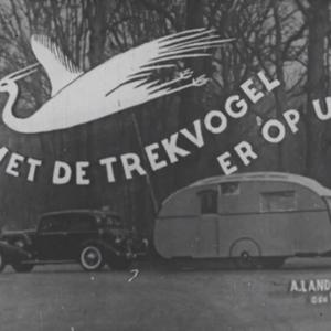 Uit de collectie van Beeld en Geluid: Kampeerfilm 'Trekvogel' uit 1936