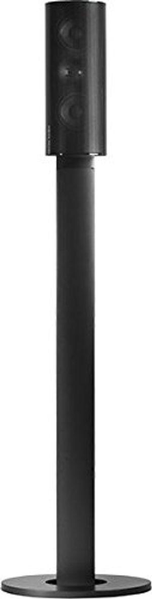 harmankardon htfs 3e aluminium säulen standfuß mit kabelkanal paar höhe 820mm kompatibel mit hkts 203030sat60200 und bds 400800 satellitenlautsprechern schwarz