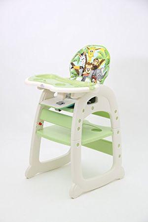 Reseña Polini niños trona combi 460 verde, 827 426 Guía