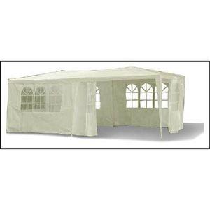 deals for - pavillon festzelt gartenpavillon bierzelt inkl 6 abnehmbaren seiten wasserabweisend mit farbwahl 3 x 6m