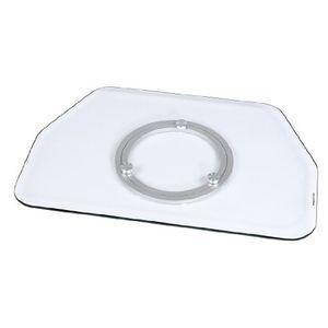 Angebote für -hama tv drehteller für fernseher und monitore bis 60 kg drehbar um 360° 60 x 40 cm sicherheitsglas transparent