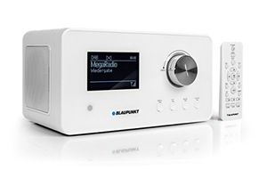 deals for - blaupunkt ird 30 internetradio dab digitalradio mit wecker wlan küchenradio als badradioukw tuner miniradio in retro design uhrenradio