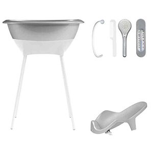 Cheap Bañera Luma Set de Baño Silver Hot oferta
