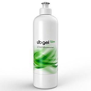 ub schlankheits und anti cellulite ultraschallgel mit grüner kaffee extrakt und yerba mate 500ml