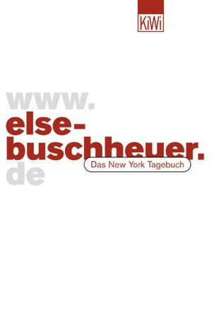 Angebote für -wwwelse buschheuerde das new york tagebuch