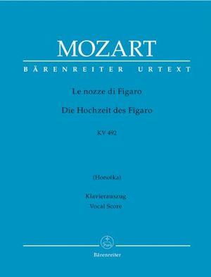 Review for le nozze di figaro die hochzeit des figaro kv 492 opera buffa in vier akten klavierauszug vokal urtextausgabe bärenreiter urtext