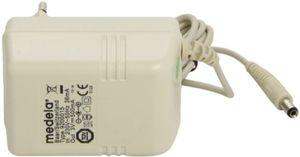 Adaptador/transformador de corriente para el extractor de leche Mini Electric de Medela Guía