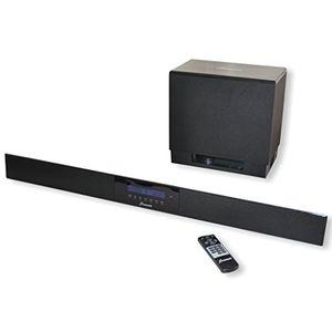 photos of Summit Soundbar A50 1000   High End Yamaha Digital Sound Prozessor 5.1   140W (Wireless Subwoofer, Fernbedienung, Bluetooth) Cyber Montag Kaufen   model CE
