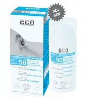 Calientes Eco Cosmetics - Loción Solar Neutral FPS 50 EcoCosmetics, 100 ml Mejor oferta