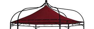Angebote für -ersatzdach für pavillon modena 6 eckig bordeauxrot