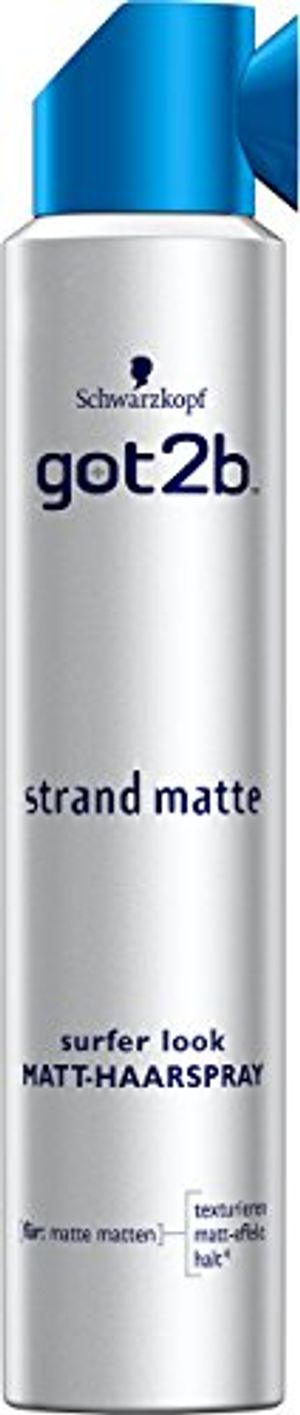 deals for - schwarzkopf got2b strand matte surfer look matt haarspray 3er pack 3 x 200 ml