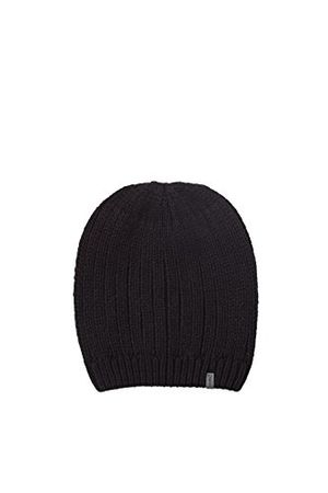 Hot esprit accessoires herren strickmütze 107ea2p001 schwarz black 001 one size