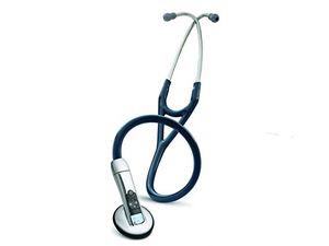 Fonendoscopio electrónico 3M™ Littmann® Modelo 3200NB, Azul Marino antes de compra