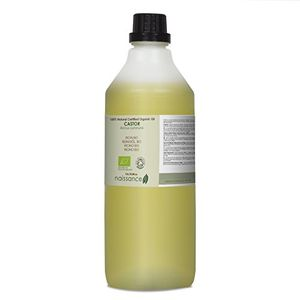 Naissance Aceite de Ricino BIO 1 Litro - Puro, natural, certificado ecológico, prensado en frío, vegano, sin hexano, no OGM - Hidrata y nutre el cabello, las cejas y las pestañas ofertas Especiales