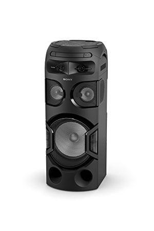 deals for - sony mhc v71d high power one box music system mit 360 grad beleuchtung verbindung über bluetooth usb cddvd und hdmi schwarz