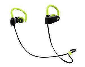 m1 by miiego wireless earphones for action sport neongreen