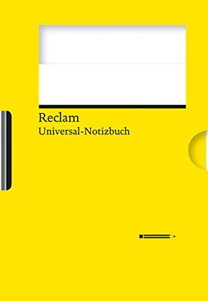 Hot reclams universal notizbuch gelb