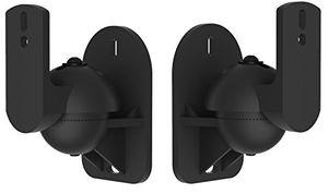 Cheap vonhaus halterung lautsprecher schwarz universal lautsprecher wandhalterung 2 stück set