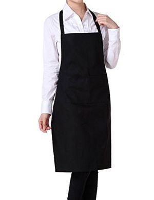 deals for - nikgic schürze kochschürze latzschürze gastronomie grillschürze küchenschürze schwarz