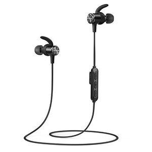 soundcore spirit bluetooth kopfhörer von anker in ear magnetisches headset mit bluetooth 508 stunden akkulaufzeitipx7 sweatguard technologiemikrofonfederleichtes design und bequemer halt für sport und workout