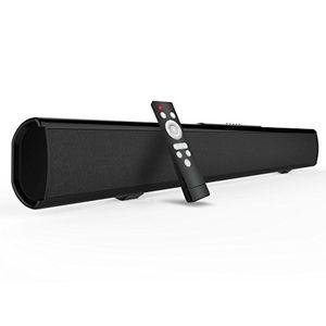 deals for - soundbar neue version bluetooth lautsprecher meidong 21 kanal 2 subwoofer speakers 40w lautsprecher mit ohne kabel an wand montierbare bluetooth soundbar