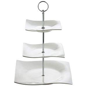 Buy maxwell williams motion etagere porzellan weiß 25x25x34