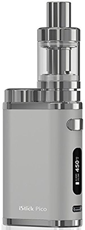 Reseña Eleaf Istick Pico Kit Box 75 W Melo 3 Mini PLATA Starter Kit (producto sin nicotina) Hot oferta