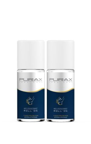 ofertas para - purax extra strong double pack antiperspirant roll on 50ml