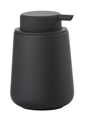 unbekannt zone seifenspender nova one keramik mit soft touch beschichtung 250 ml schwarz matt