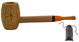 Angebote für -original corncob pfeife horse gerade tabakpfeife inkl pfeifenbeutel popeye
