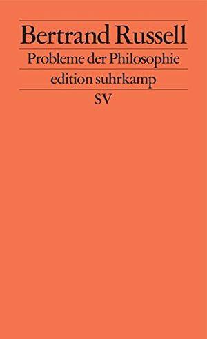 probleme der philosophie edition suhrkamp band 207