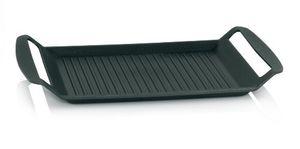 kela 11564 grillplatte für den herd aluguss 5 mm induktionsgeeignet 30 x 24 cm kerros