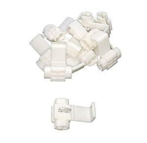 baytronic abzweigverbinder schnellverbinder stromdiebe klemmverbinder 10x weiß 075mm² 25mm²