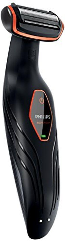 ofertas para - philips bg202415 afeitadora corporal sin cable 1 peine 3 mm color negro y naranja