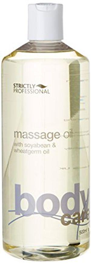 Strictly Professional - Aceite de masaje profesional con haba de soja y germen de trigo 500 ml antes de compra