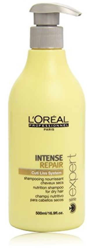 ofertas para - loréal professionnel expert intense repair cuti liss system champú nutritivo para cabellos secos 500 ml