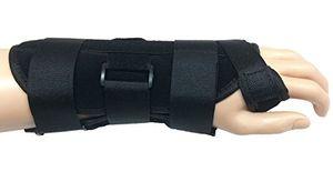 Top Soporte de muñeca férula con 3 placas metálicas (superior e inferior) de túnel carpiano, Strain, esguinces y artritis Derecha grande 17-19 cm Hot oferta