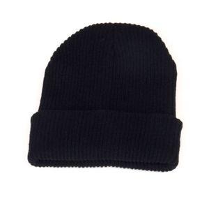 Top gooddesigns beanie wintermütze in verschiedenen farben strickmütze für damen und herren unisex mütze schwarz