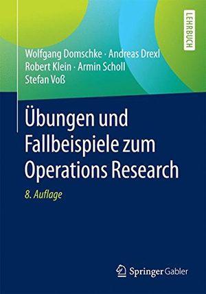 Angebote für -übungen und fallbeispiele zum operations research