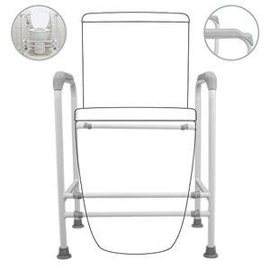 Barato PrimeMatik - Apoyabrazos barandilla de seguridad para inodoro WC baño día Ventajas Desventajas Padres