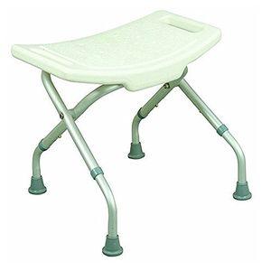ofertas para - silla de duchabaño acero inoxidable taburete plegable y regulable en altura estable y seguro peso máximo soportado 115 kg modelo delta mobiclinic